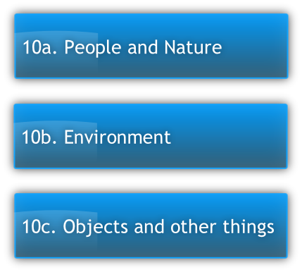 10c.	Objects and other things